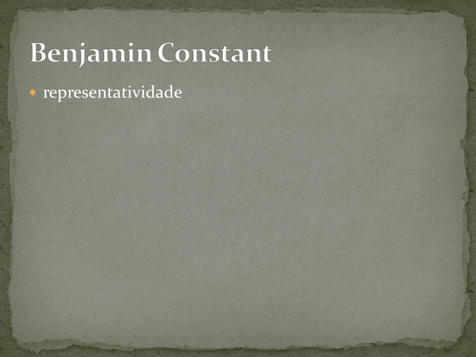 Benjamin Constant representatividade