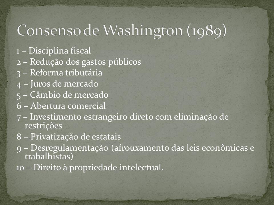 Consenso de Washington (1989)