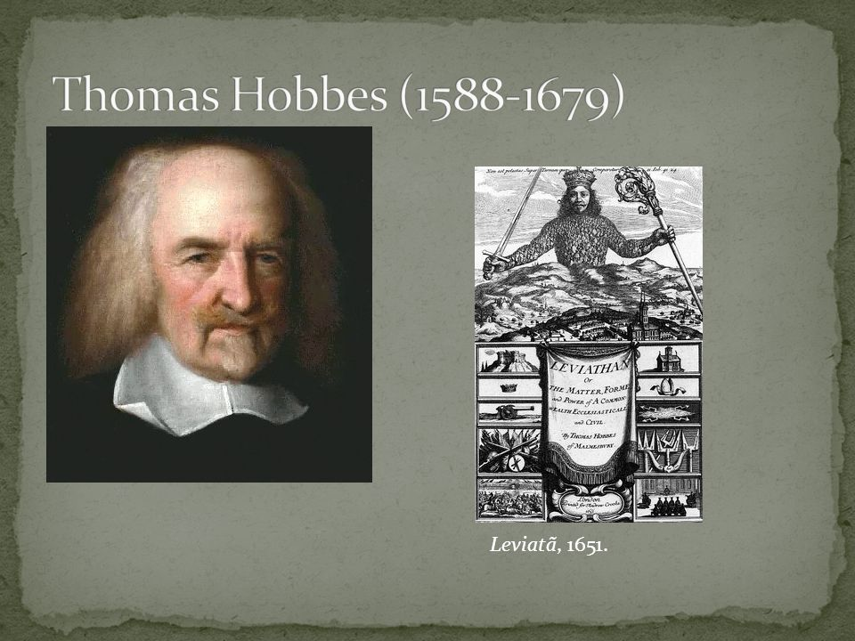 Thomas Hobbes (1588-1679) Leviatã, 1651.