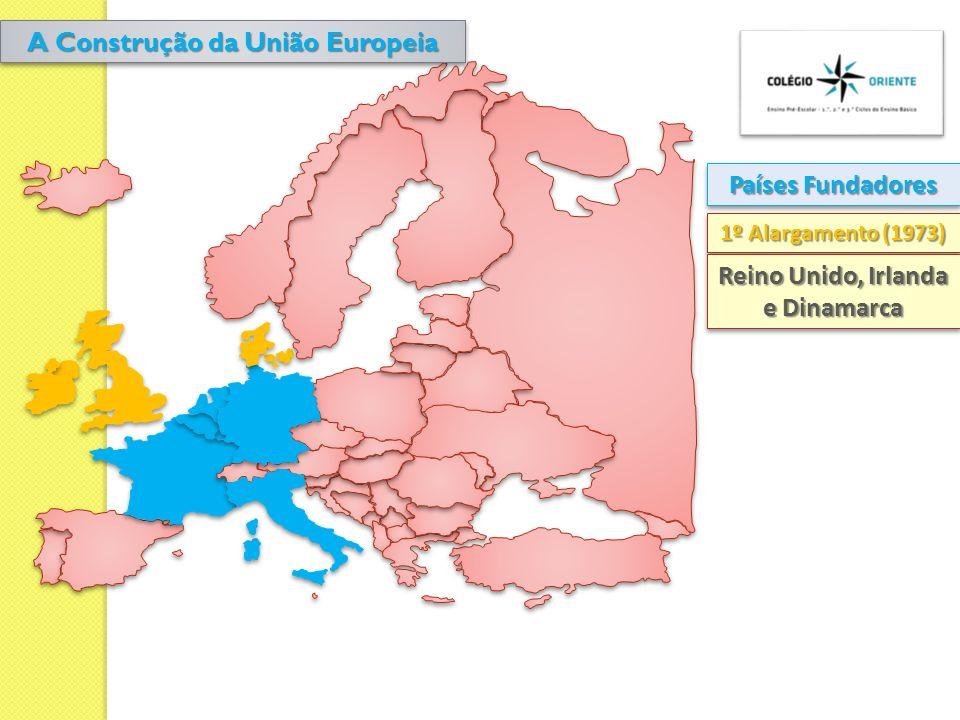 A Construção da União Europeia Reino Unido, Irlanda e Dinamarca