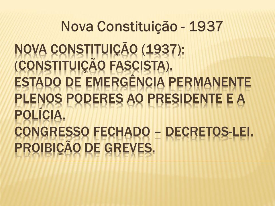 Nova Constituição - 1937