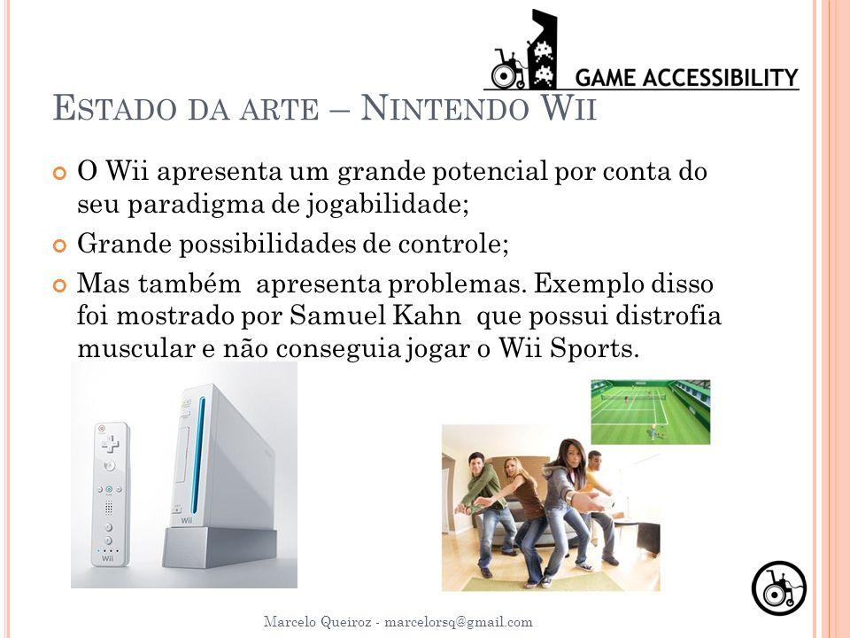 Estado da arte – Nintendo Wii