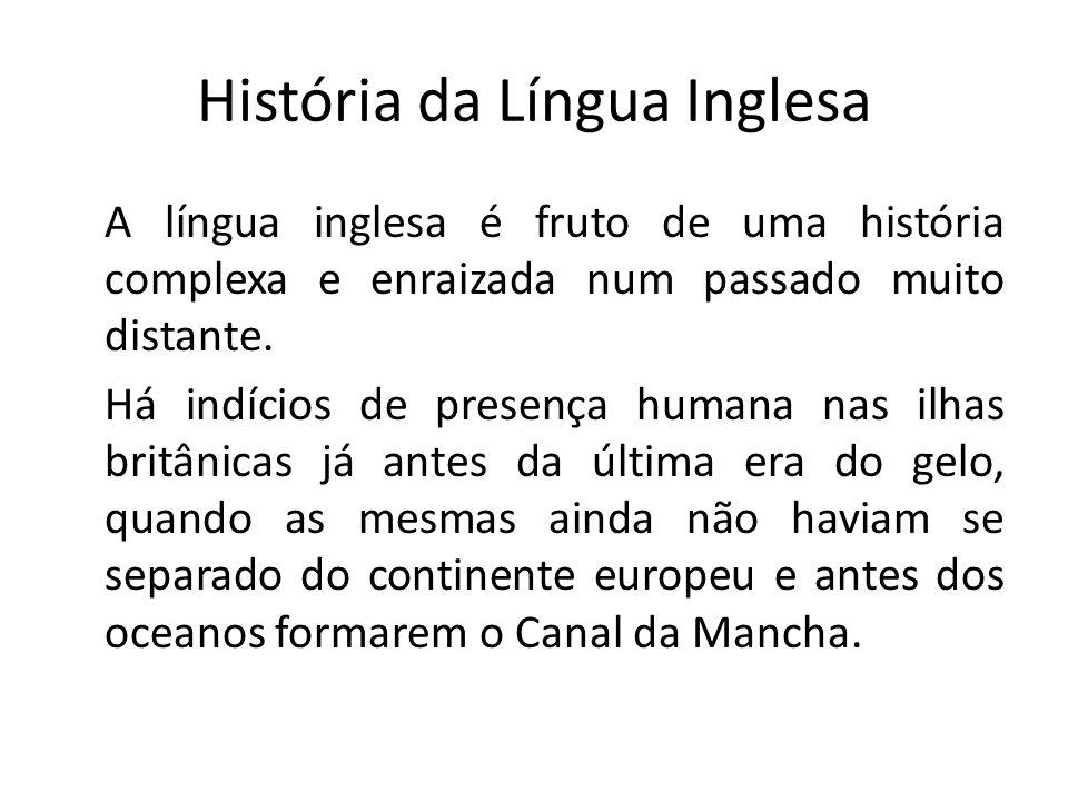 História da Língua Inglesa