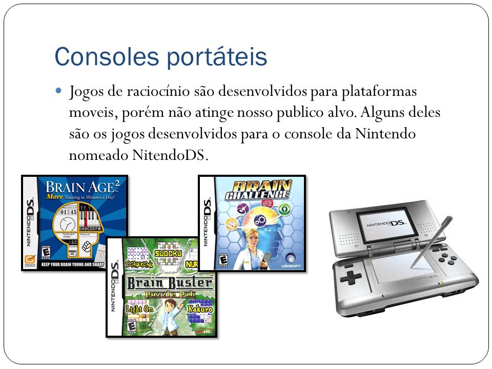 Consoles portáteis