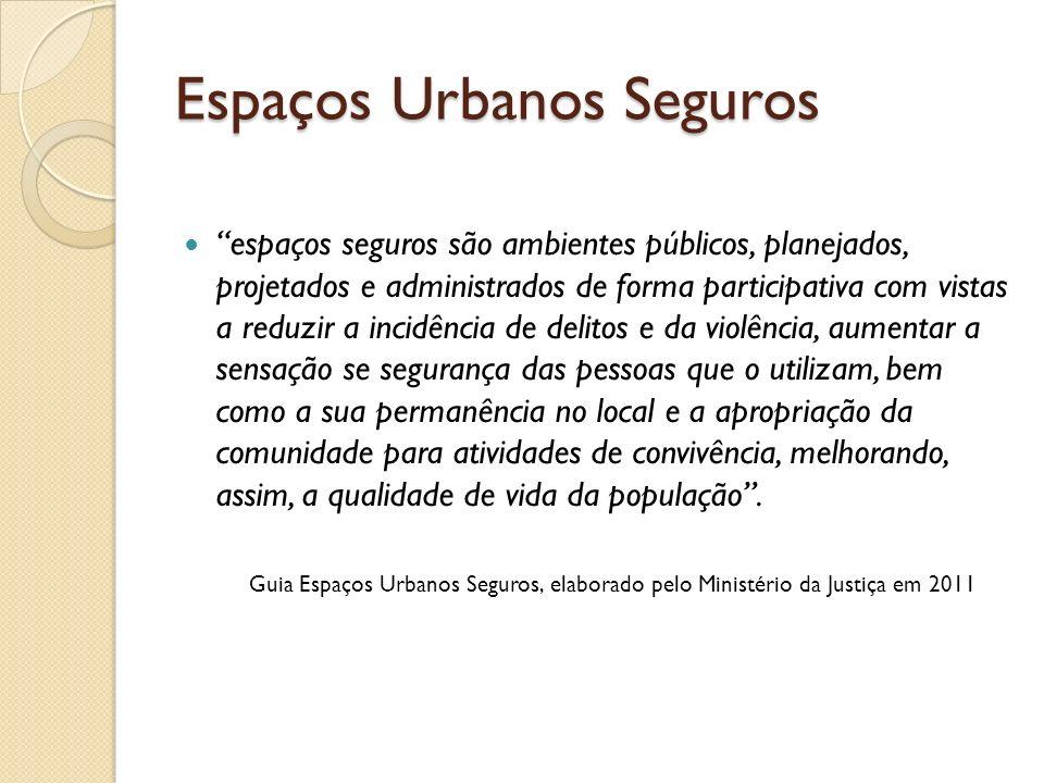 Espaços Urbanos Seguros