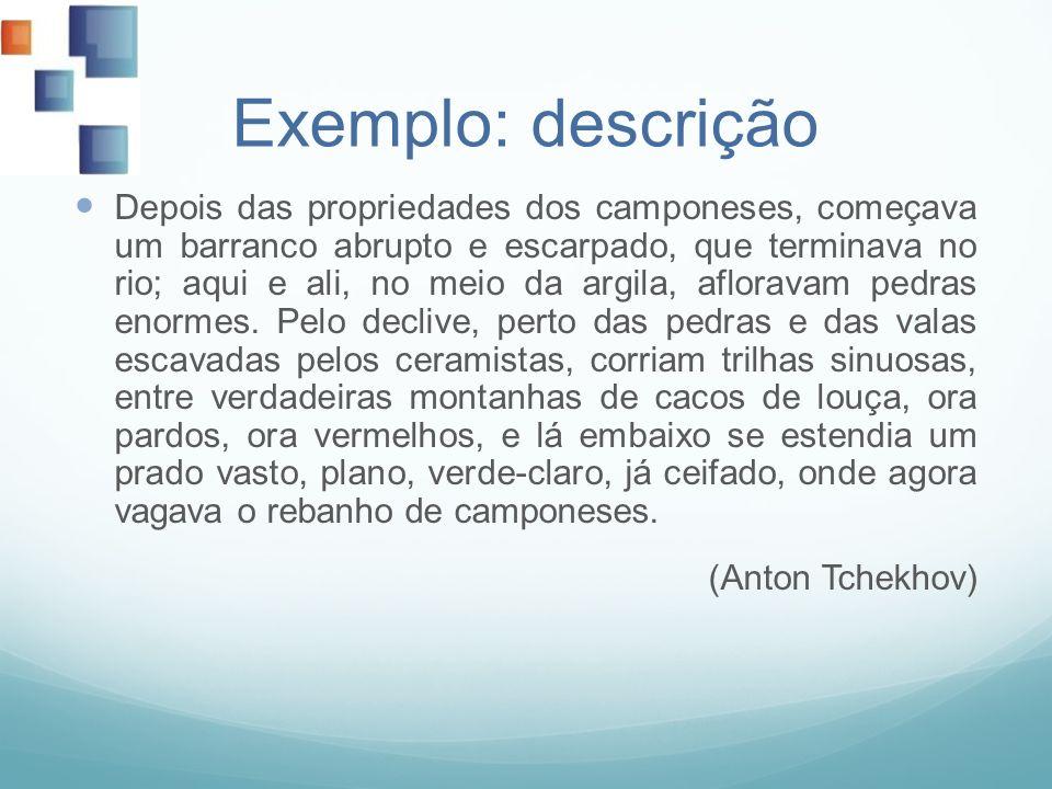 Exemplo: descrição