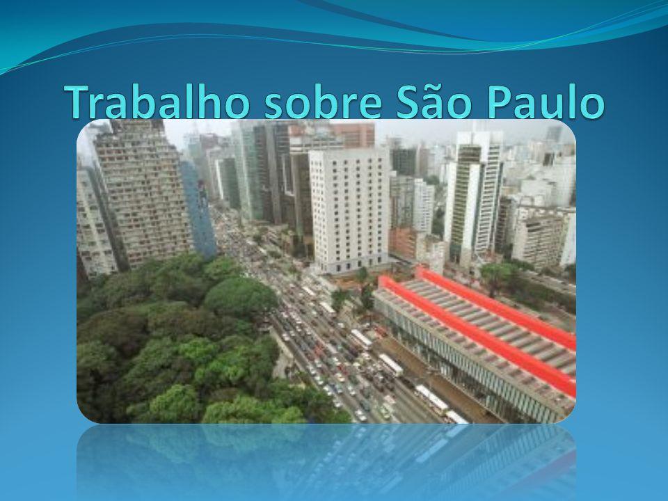 Trabalho sobre São Paulo