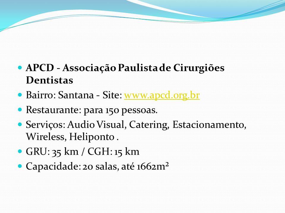 APCD - Associação Paulista de Cirurgiões Dentistas
