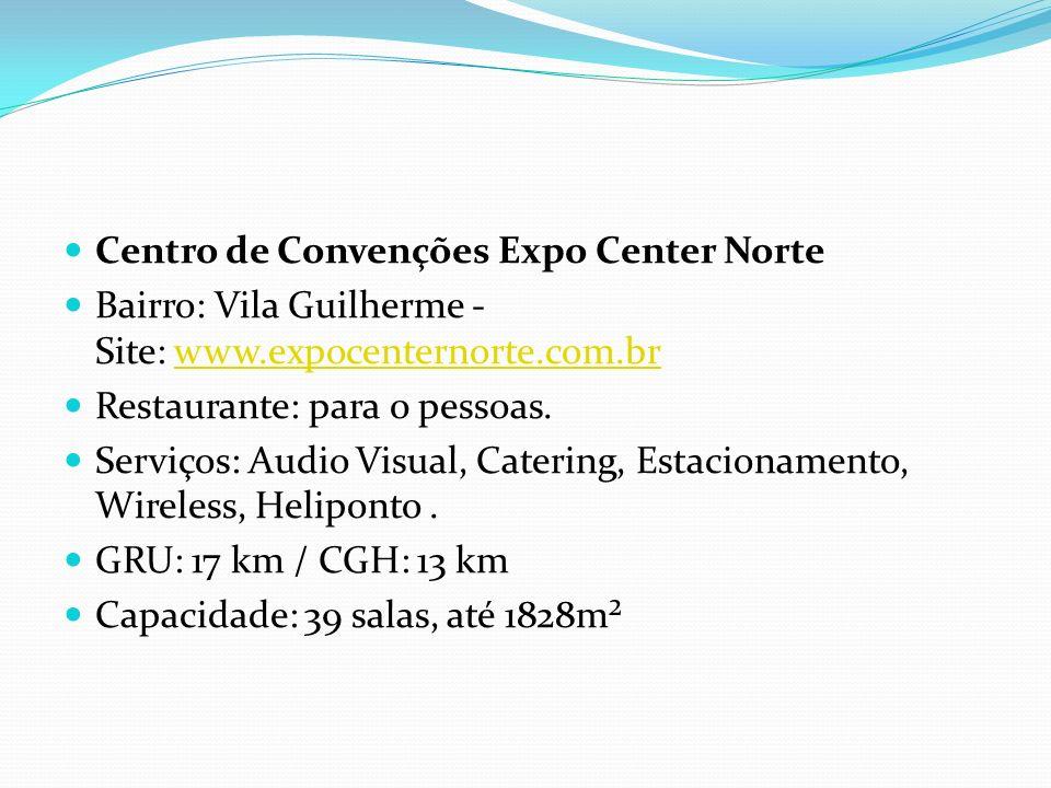 Centro de Convenções Expo Center Norte