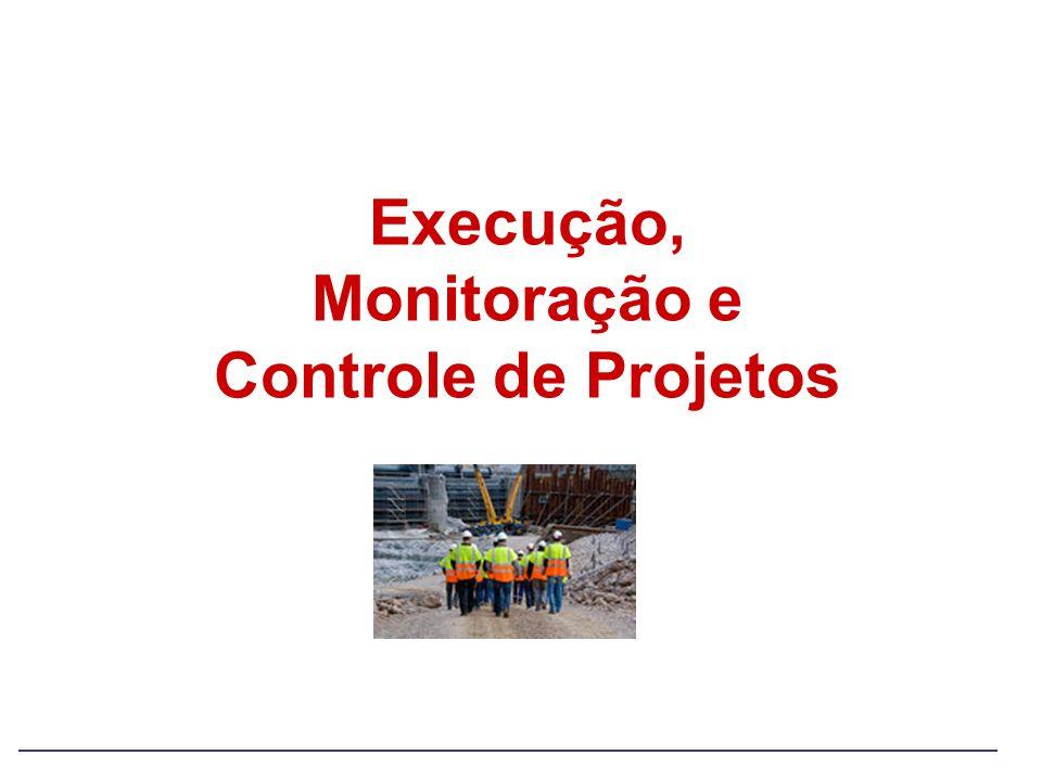 Execução, Monitoração e Controle de Projetos