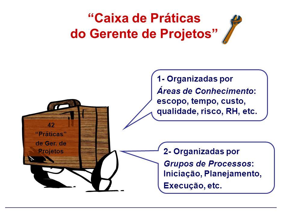 Caixa de Práticas do Gerente de Projetos