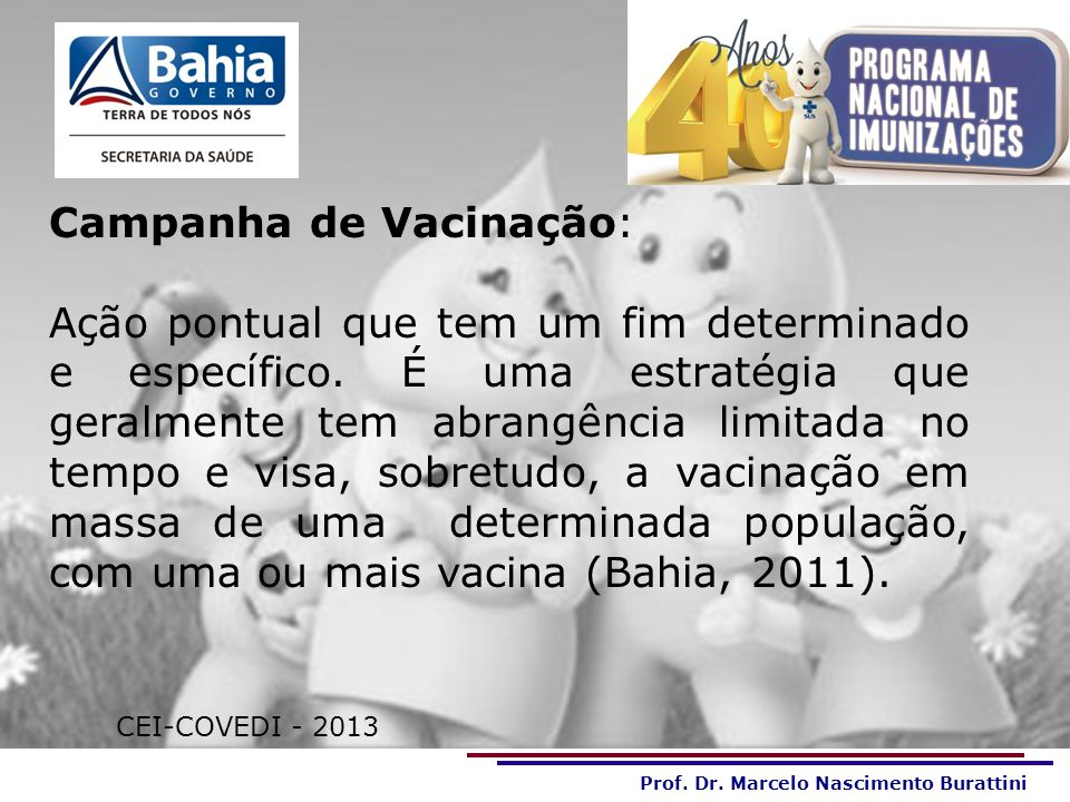 Campanha de Vacinação: