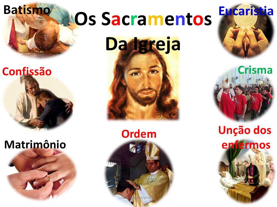 Os Sacramentos Da Igreja