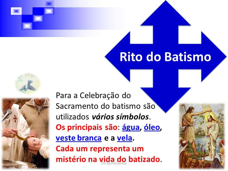 Rito do Batismo