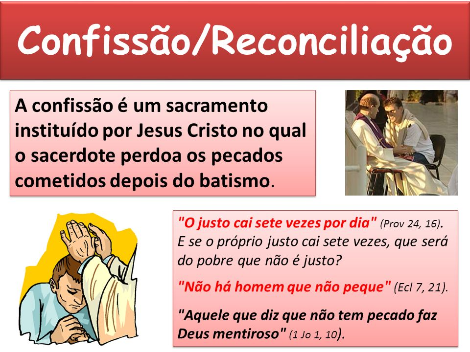 Confissão/Reconciliação