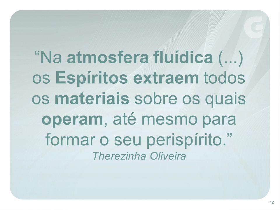Na atmosfera fluídica (
