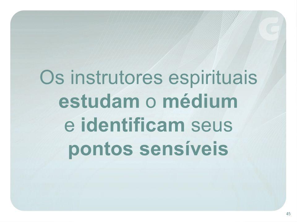 Os instrutores espirituais