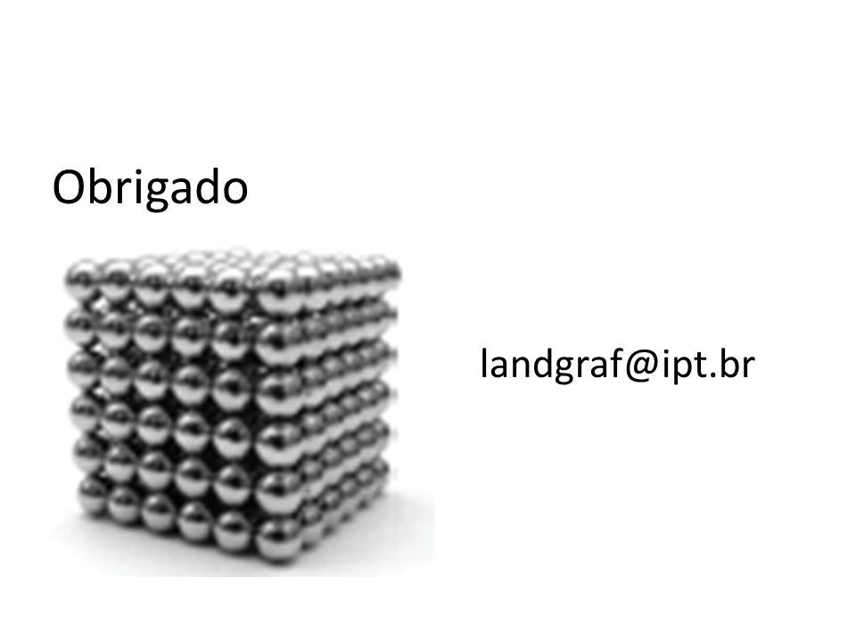 Obrigado landgraf@ipt.br