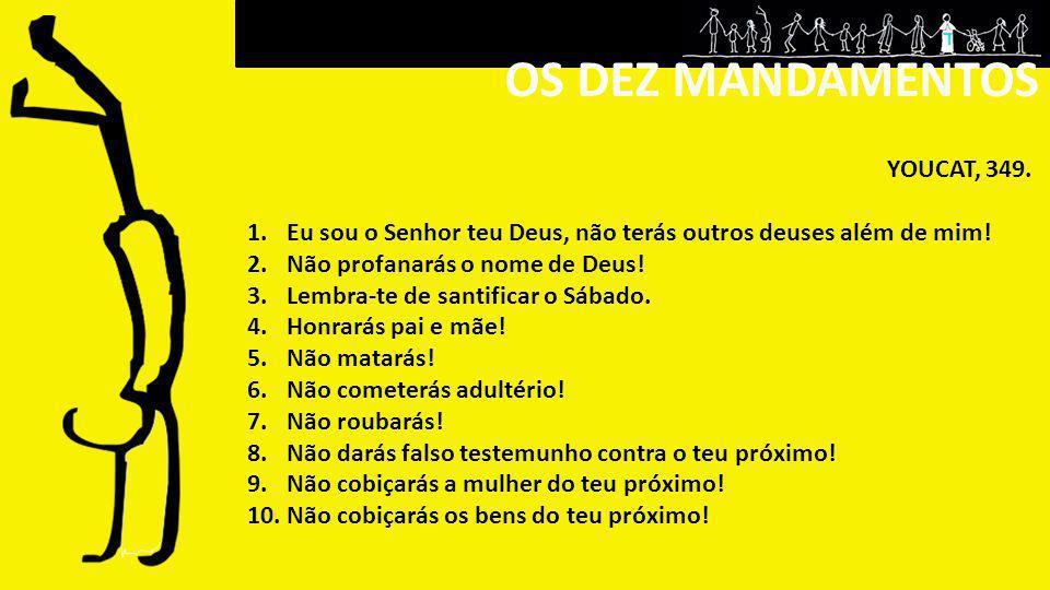 OS DEZ MANDAMENTOS YOUCAT, 349.