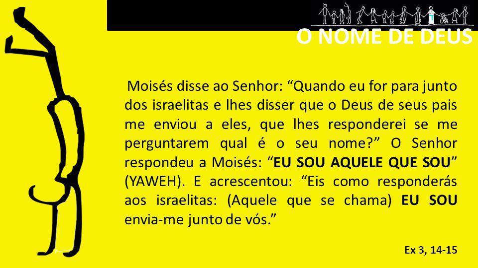 O NOME DE DEUS