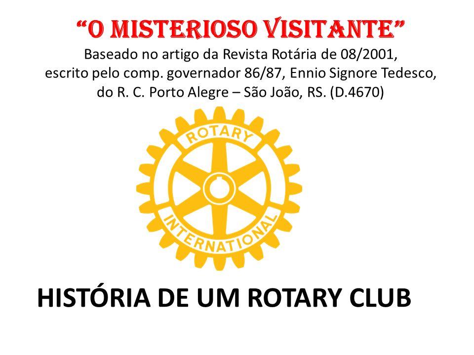 HISTÓRIA DE UM ROTARY CLUB