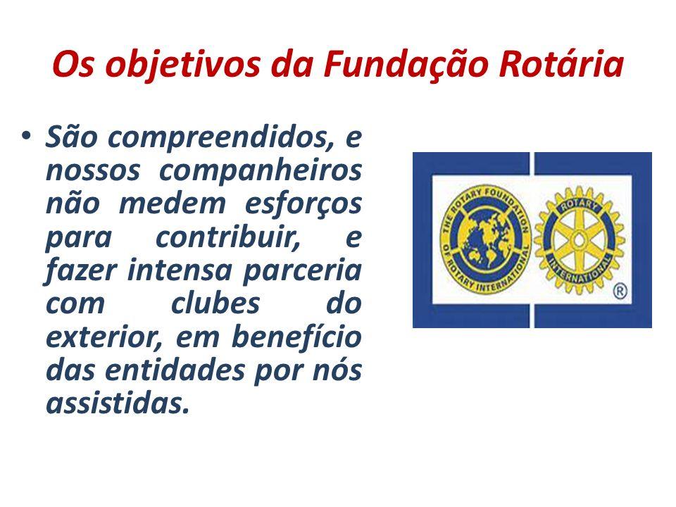Os objetivos da Fundação Rotária