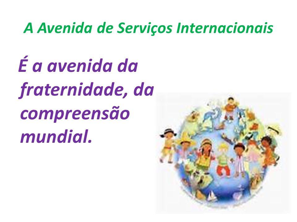 A Avenida de Serviços Internacionais