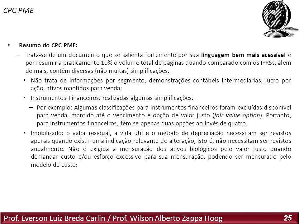 CPC PME Resumo do CPC PME: