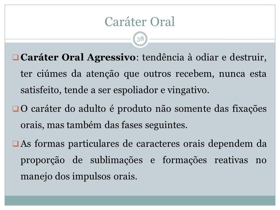 Caráter Oral