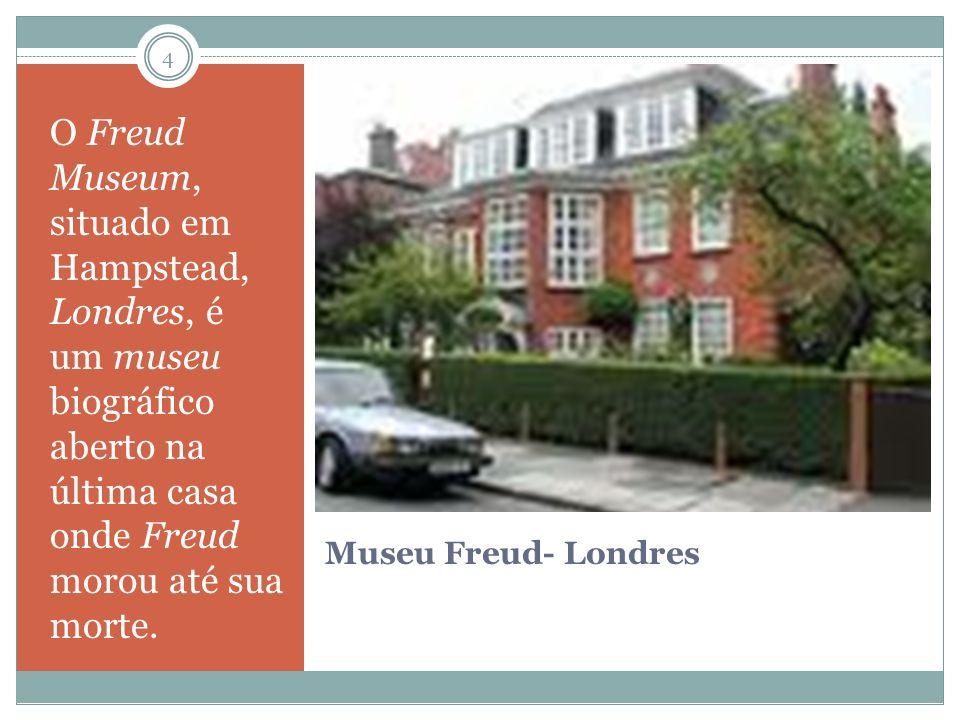 O Freud Museum, situado em Hampstead, Londres, é um museu biográfico aberto na última casa onde Freud morou até sua morte.