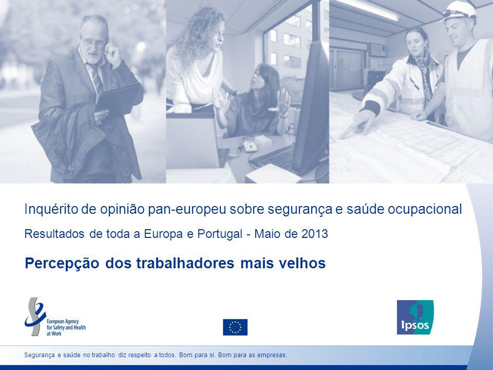 Inquérito de opinião pan-europeu sobre segurança e saúde ocupacional