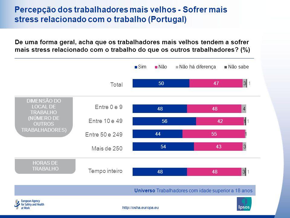 DIMENSÃO DO LOCAL DE TRABALHO (NÚMERO DE OUTROS TRABALHADORES)