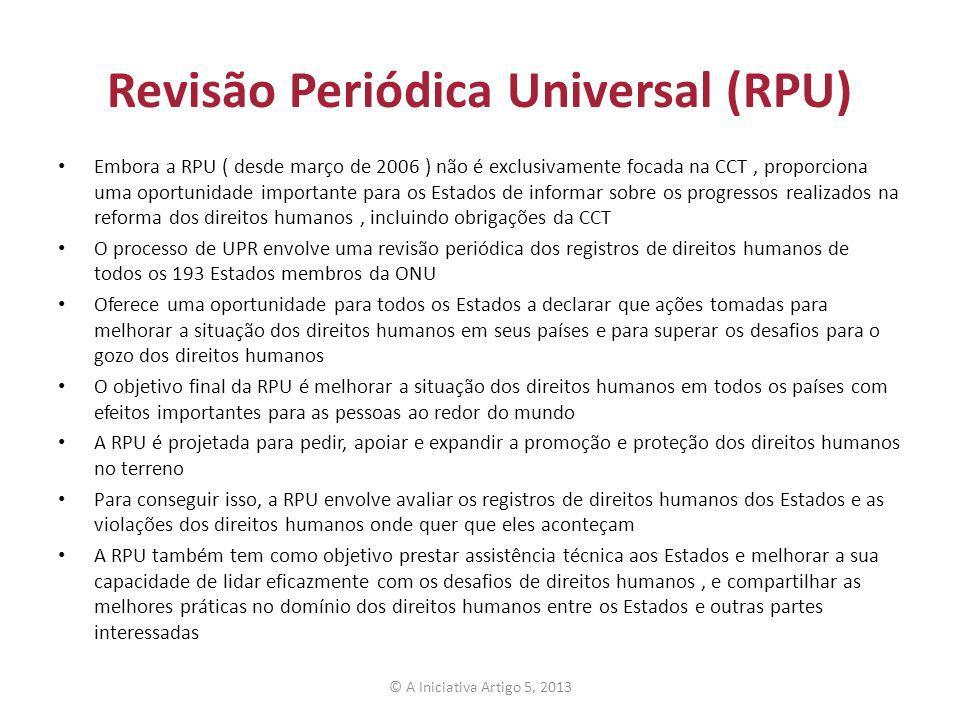 Revisão Periódica Universal (RPU)
