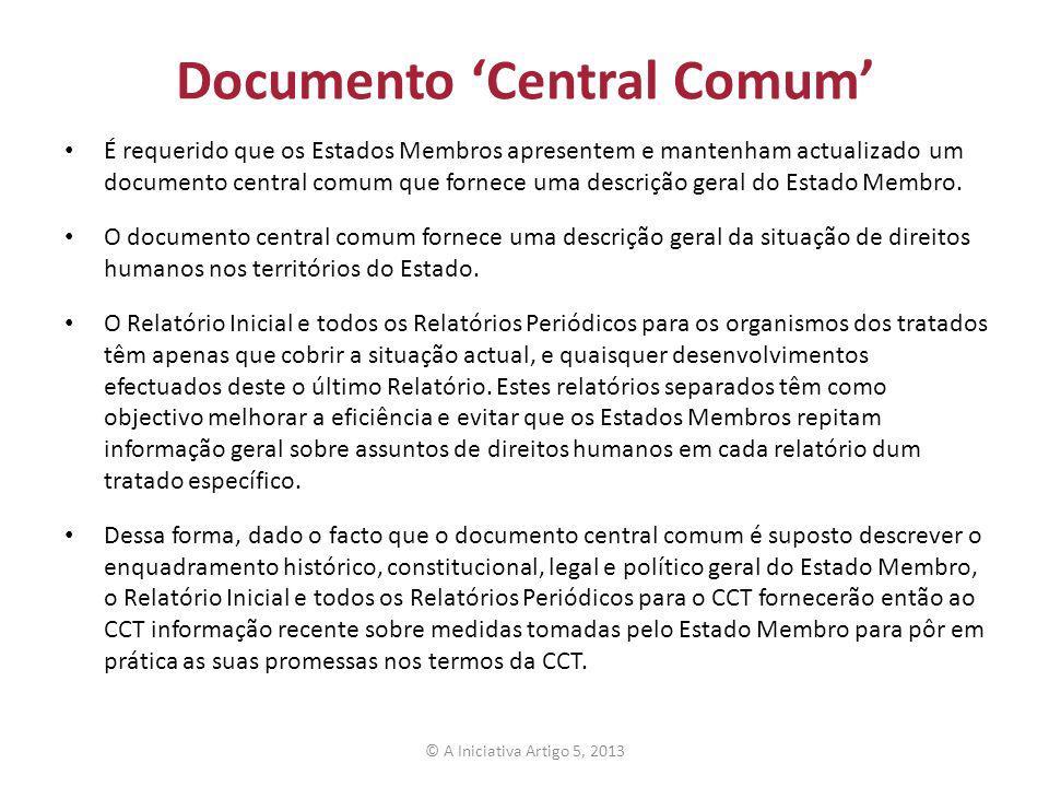 Documento 'Central Comum'