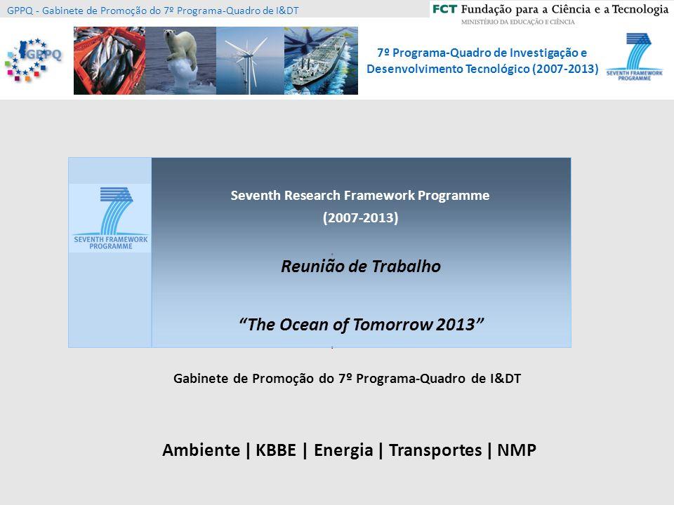 Reunião de Trabalho The Ocean of Tomorrow 2013