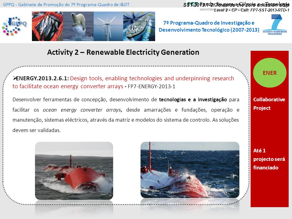 Activity 2 – Renewable Electricity Generation
