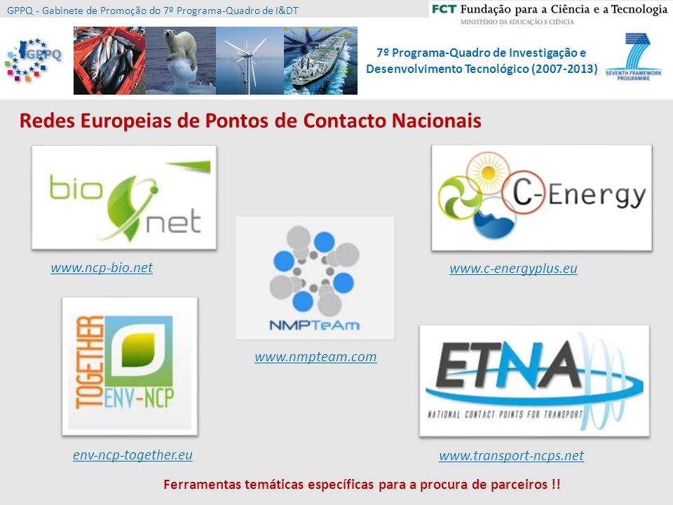 Redes Europeias de Pontos de Contacto Nacionais