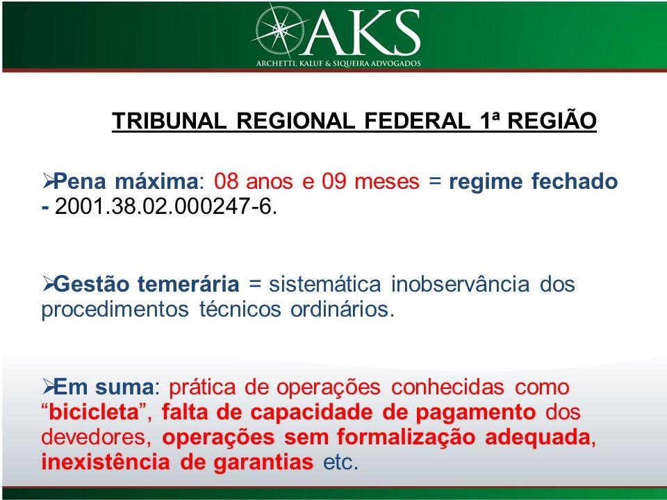 TRIBUNAL REGIONAL FEDERAL 1ª REGIÃO