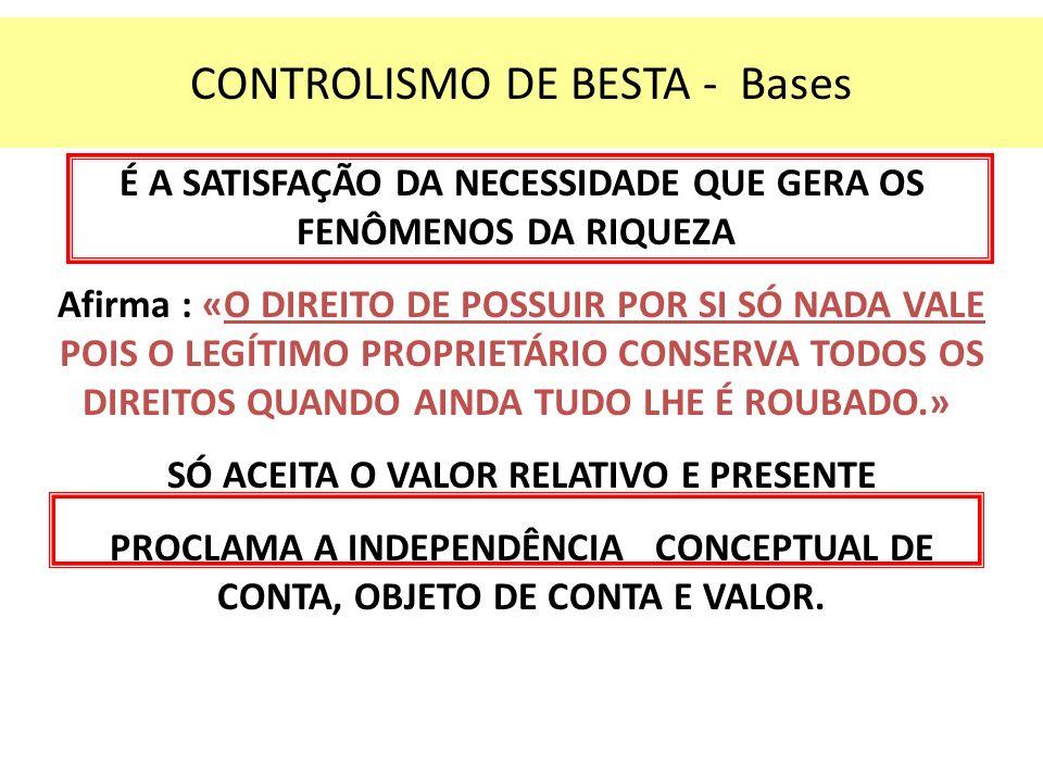 CONTROLISMO DE BESTA - Bases