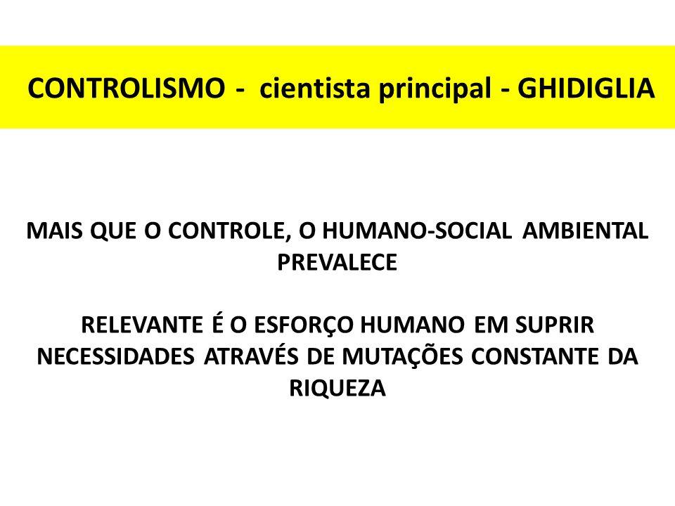 CONTROLISMO - cientista principal - GHIDIGLIA