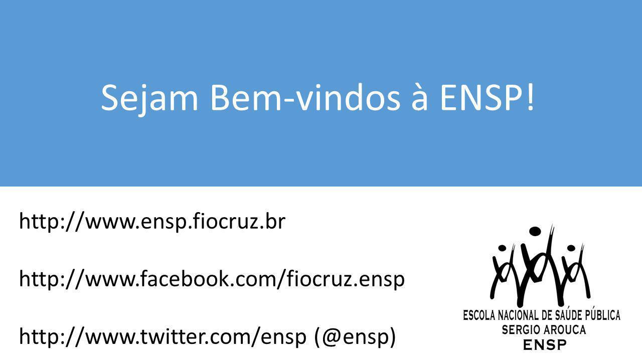 Sejam Bem-vindos à ENSP!