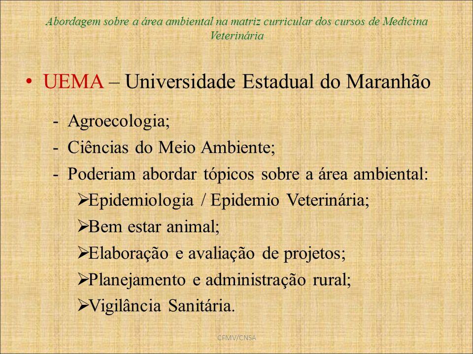 UEMA – Universidade Estadual do Maranhão