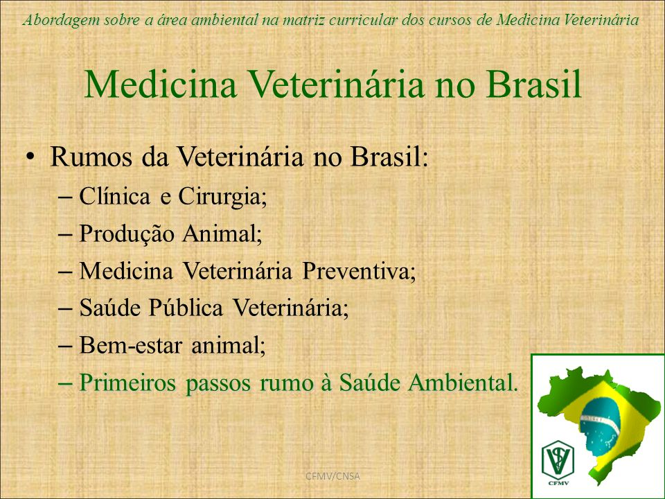 Medicina Veterinária no Brasil