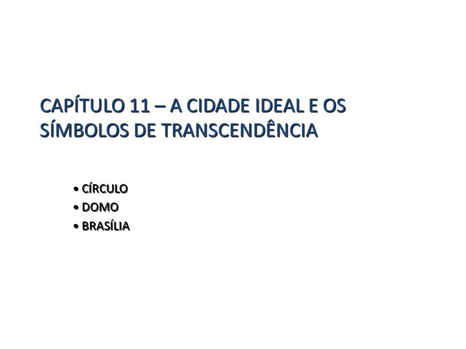 CAPÍTULO 11 – A CIDADE IDEAL E OS SÍMBOLOS DE TRANSCENDÊNCIA