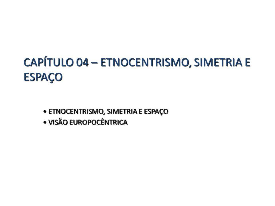 CAPÍTULO 04 – ETNOCENTRISMO, SIMETRIA E ESPAÇO