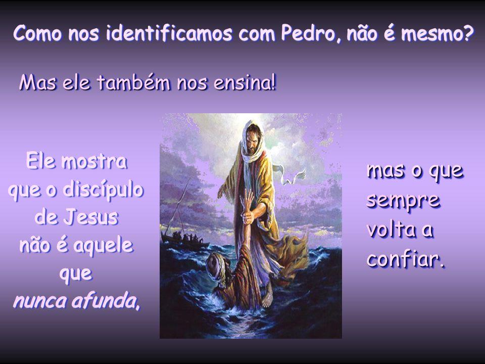 Ele mostra que o discípulo de Jesus