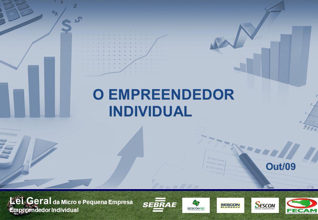 O EMPREENDEDOR Out/09 INDIVIDUAL