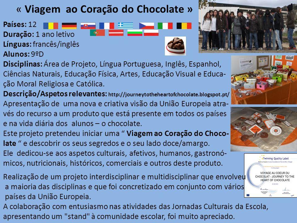 « Viagem ao Coração do Chocolate »