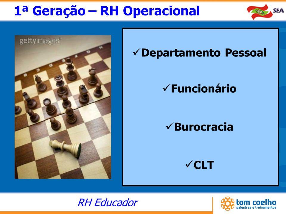 1ª Geração – RH Operacional