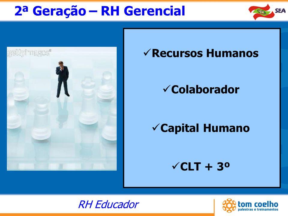 2ª Geração – RH Gerencial